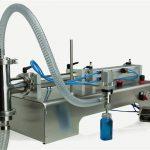 Nouvelle conception de machine de remplissage de piston semi-automatique de haute qualité