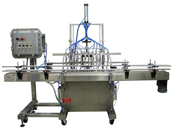 Machine de remplissage liquide à piston automatique 50ml-1L