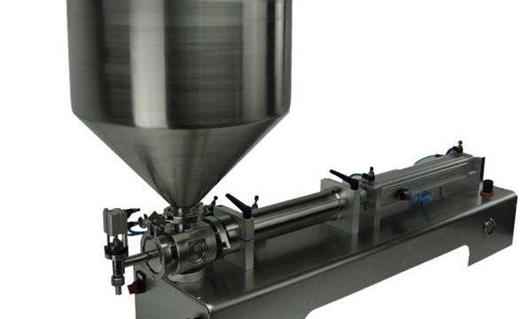 Machine de remplissage de piston double tête pas cher pour shampooing