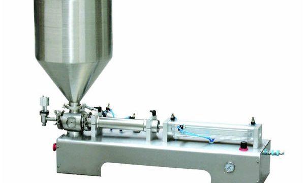 Machine de remplissage à piston pneumatique, machine de remplissage à piston crème épaisse
