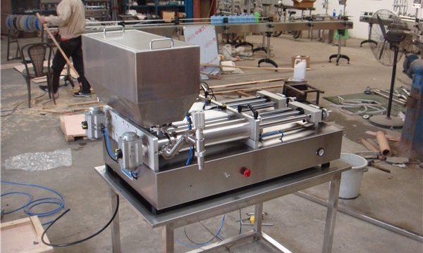 Machine de remplissage de confiture semi-automatique pneumatique la moins chère